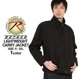 ロスコ ROTHCO ロスコ ジャケット メンズ 大きいサイズ メンズ [ロスコ ROTHCO ジャケット メンズ ブルゾン アウター ミリタリー ジャケット ブラック 黒 大きいサイズ メンズ XL XXL LL 2L 3L] (USAモデル)