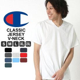 【全品対象】割引クーポン配布 | チャンピオン tシャツ vネック 無地 tシャツ 半袖 大きいサイズ メンズ tシャツ アメカジ tシャツ メンズ 半袖 ブランド S/M/L/LL/2L/3L