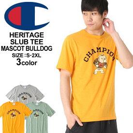 Champion チャンピオン tシャツ メンズ 半袖 ブランド 大きいサイズ メンズ champion tシャツ ヘリテージ チャンピオン tシャツ ビッグロゴ