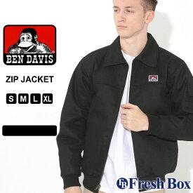 ベンデイビス ジャケット ジップアップ キルティングライナー メンズ 大きいサイズ 374 USAモデル|ブランド BEN DAVIS|アウター ブルゾン ワークジャケット 作業着 作業服 防寒 アメカジ