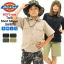 【Dickies Boys】 ディッキーズ ボーイズ シャツ 半袖 ≪USAモデル≫ [Dickies ディッキーズ ボーイズ キッズ 子供服 …