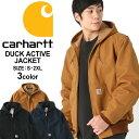 Carhartt カーハート ジャケット メンズ 秋冬 大きいサイズ メンズ [カーハート Carharett アクティブジャケット ダックジャケット ワークジャケット メンズ 大きいサイズ メンズ