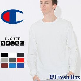 チャンピオン Tシャツ 長袖 メンズ 大きいサイズ USAモデル|ブランド ロンT 長袖Tシャツ ロゴ アメカジ|Champion