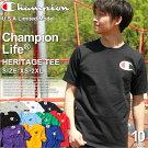 Championチャンピオンtシャツメンズ半袖アメカジ[Championチャンピオンtシャツメンズ半袖ストリート大きいサイズメンズtシャツ半袖tシャツアメカジtシャツメンズチャンピオンロゴtシャツSSXSXLXXL2L3L](USAモデル)