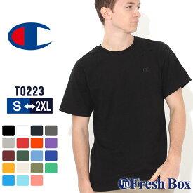 チャンピオン Tシャツ 半袖 クルーネック メンズ レディース 大きいサイズ T0223 ブランド アメカジ USAモデル