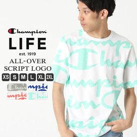 [10%OFFクーポン配布] チャンピオン tシャツ メンズ champion 7oz tシャツ 半袖tシャツ 大きいサイズ メンズ tシャツ XS/S/M/L/LL/3L Champion Life【COP】