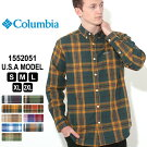 コロンビアシャツ長袖ボタンダウン1552051|ブランドColumbia|長袖シャツカジュアルシャツ