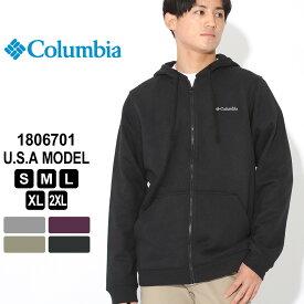 【送料無料】 コロンビア パーカー ジップアップ 1806701 ブランド Columbia フルジップフーディー 防寒