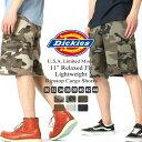 ディッキーズ ハーフパンツ Dickies wr351 ハーフパンツ メンズ ひざ下 カーゴパンツ ハーフ カーゴショーツ 大きいサイズ メンズ ハーフパンツ (USAモデル)