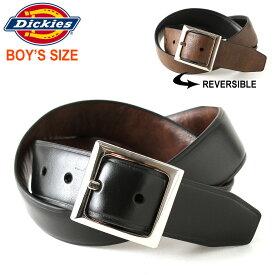 [キッズ] ディッキーズ ベルト 合皮 メンズ 12DI0108|大きいサイズ USAモデル Dickies|シンセティックレザー 合成皮革