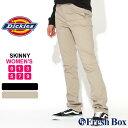 【送料無料】 [レディース] ディッキーズ フレックス ワークパンツ スキニーフィット ストレッチ 大きいサイズ J1019XW USAモデル|ブランド Dickies Girl|スリムパンツ アメカ