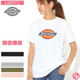 [レディース] ディッキーズ Tシャツ 半袖 クルーネック ロゴ 大きいサイズ FS45R|ブランド アメカジ カジュアル
