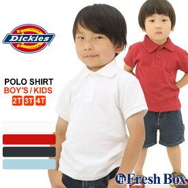[キッズ] ディッキーズ ポロシャツ 半袖 ポケット ボーイズ KS234|半袖ポロシャツ 子供 子供服 男の子 女の子 2T(90cm) 3T(95cm) 4T(100cm) ブランド アメカジ USAモデル