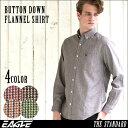 【送料無料】 ネルシャツ メンズ チェックシャツ 長袖 ボタンダウン 大きいサイズ メンズ EAGLE THE STANDARD [ネルシャツ メンズ 厚手 チェックシャツ フランネルシャツ メンズ
