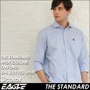 送料無料 7分袖 シャツ メンズ カジュアル 七分袖 シャツ オックスフォード ワイシャツ ワイド 《EAGLE THE STANDARD…