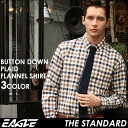 送料無料 EAGLE THE STANDARD イーグル シャツ ブランド ネルシャツ チェック メンズ [日本規格] (チェックシャツ ネ…