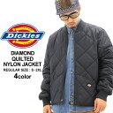 ディッキーズ Dickies ディッキーズ ジャケット メンズ 大きいサイズ 61242 [Dickies ディッキーズ アウター 大きいサイズ メンズ キルティング ジャケット ナイロンジャケット ブルゾン ディッキーズ 防寒 秋冬 大きい XL XXL LL 2L 3L]