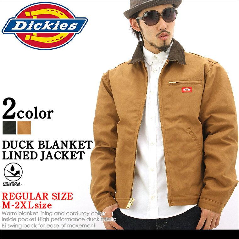 【送料299円】 ディッキーズ Dickies DUCK BLANKET LINEDJACKET ジャケット メンズ 秋冬 アウター ブルゾン 大きいサイズ ダック 黒 ブラック XL XXL LL 2L 3L 【平行輸入品】 【USAモデル】