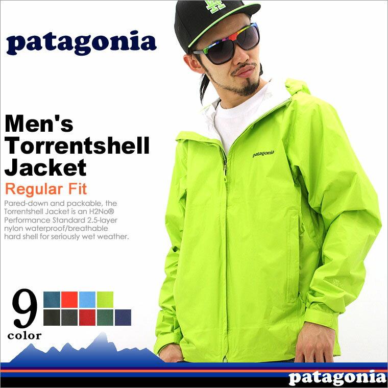 パタゴニア Patagonia パタゴニア トレントシェルジャケット トレントシェル パタゴニア マウンテンパーカー メンズ 大きいサイズ アウトドア 防寒 撥水 (patagonia-83801)