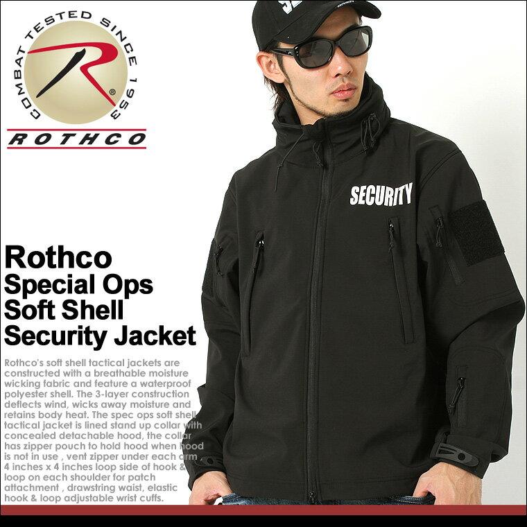 【送料無料】 ロスコ ROTHCO ロスコジャケット メンズ 大きいサイズ シェルジャケット [ロスコ ROTHCO ジャケット メンズ 冬 ソフトシェルジャケット ミリタリー シェルジャケット 防寒 アメカジ ブランド 大きい 黒 ブラック XL XXL LL 2L 3L] (USAモデル)