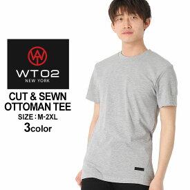 WT02 Tシャツ 半袖 無地 メンズ 18191-1461|大きいサイズ USAモデル ブランド ダブルティー02|半袖Tシャツ ストリート (clearance_1004)