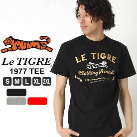 ルティグレ Tシャツ メンズ|ブランド Le TIGRE|半袖Tシャツ アメカジ L LL XL XXL 2XL