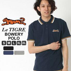 ルティグレ ポロシャツ 半袖 メンズ|ブランド Le TIGRE|半袖ポロシャツ アメカジ おしゃれ L LL XL XXL 2XL