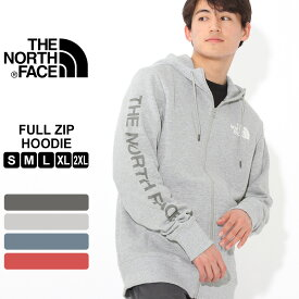 ノースフェイス パーカー TNF ロゴ ジップアップ 裏起毛 薄手 メンズ NF0A3X9K USAモデル|ブランド THE NORTH FACE|フード スウェット スエット