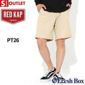 アウトレット 返品・交換・キャンセル不可|レッドキャップ ハーフパンツ メンズ 大きいサイズ PT26|ブランド RED KAP|ショートパンツ 作業着 作業服 アメカジ (outlet)