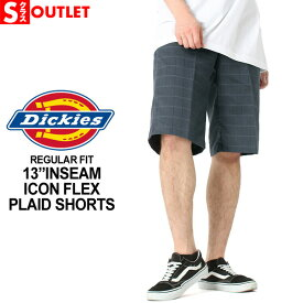 アウトレットセール 返品・交換・キャンセルは不可 │ Dickies ディッキーズ ハーフパンツ メンズ チェック (outlet)