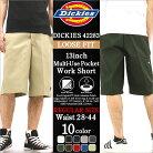 Dickies ディッキーズ ハーフパンツ メンズ 大きいサイズ メンズ ショートパンツ [ディッキ…