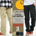 Carhartt カーハート ワークパンツ メンズ 大きいサイズ メンズ B290 Twill Work Pants [カーハート CARHARTT パンツ メンズ ワークパンツ 大きいサイズ チノパ
