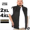 [ビッグサイズ] プロクラブ 中綿ベスト 迷彩 フリースライニング メンズ|大きいサイズ USAモデル ブランド PRO CLUB|防寒 アウター XXL 2L 3L 4L