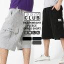 PRO CLUB プロクラブ スウェット ハーフパンツ メンズ 大きいサイズ カーゴパンツ ハーフ スウェットショーツ LL XL (USAモデル)