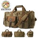 ロスコ バッグ ボストンバッグ 3WAY 大容量 メンズ レディース USAモデル 米軍 ブランド ROTHCO キャンバス 旅行 ト…