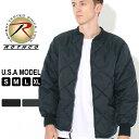 【送料無料】 ロスコ キルティングジャケット サーマルライニング メンズ フライトジャケット 大きいサイズ USAモデル 米軍|ブランド ROTHCO|ミリタリー 撥水