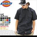 【BIGサイズ】 Dickies ディッキーズ ワークシャツ 半袖 メンズ 大きいサイズ ≪USAモデル≫ (1574) [ディッキーズ Di…
