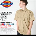 ディッキーズ Dickies ディッキーズ ワークシャツ 半袖 メンズ 1574 [Dickies ディッキーズ ワークシャツ メンズ 半袖…