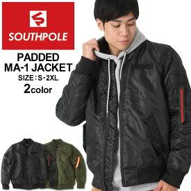 SOUTH POLE サウスポール MA-1 中綿 ma1 ジャケット ブランド (USAモデル) (clearance)