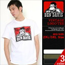 【BIGサイズ】 BEN DAVIS ベンデイビス Tシャツ メンズ 半袖 ヴィンテージ仕様 [ベンデイビ…