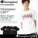 チャンピオン champion チャンピオン tシャツ メンズ 半袖 ストリート [gt19-y06326] │ Champion チャンピオン tシャツ メンズ 半袖tシャツ 大きいサイズ メンズ