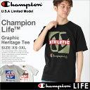 【送料299円】 チャンピオン champion チャンピオン tシャツ メンズ 半袖 ストリート [gt19-y06328] │ Champion チャンピオン tシャツ メンズ 半袖tシャツ 大き