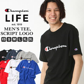 【全品対象】割引クーポン配布 | チャンピオン Tシャツ 半袖 メンズ 大きいサイズ USAモデル|ブランド 半袖Tシャツ ロゴ アメカジ|Champion