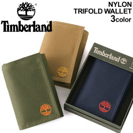 Timberland ティンバーランド 財布 メンズ 三つ折り財布 メンズ ミニ財布 財布 メンズ ブランド キャンバス