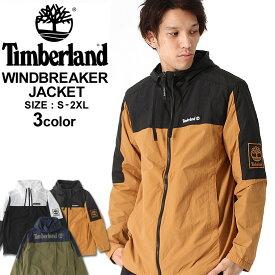 Timberland ティンバーランド アウター ウィンドブレーカー メンズ フルジップジャケット アウトドア ナイロンジャケット 撥水 大きいサイズ メンズ アウター 作業服 作業着 防寒 (USAモデル)