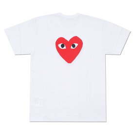 PLAY COMME des GARCONS プレイ コムデギャルソン RED HEART TEE Tシャツ WHITE 200007096040 【新品】