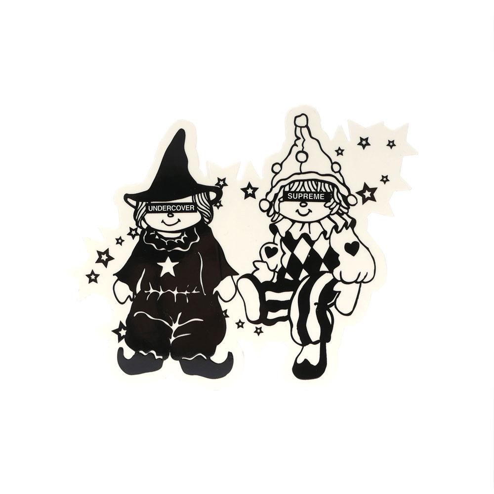 SUPREME(シュプリーム) x UNDERCOVER(アンダーカバー) Dolls Sticker (ステッカー) 290-004080-110+【新品】