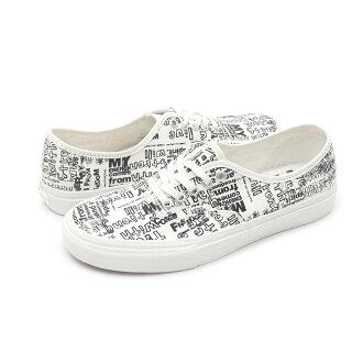 COMME des GARCONS(komudegyaruson)x VANS VAULT(卡车Wort)Authentic(确实)(运动鞋)(鞋)Blanc de Blanc/Mesg 291-002168-260x
