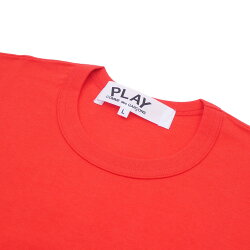 PLAYCOMMEdesGARCONS(プレイコムデギャルソン)2HEARTTEE(Tシャツ)RED200-007273-053x【新品】
