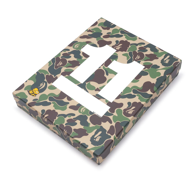 A BATHING APE (エイプ)11周年記念BOXSET圧縮TシャツWHITE Lサイズ-(A